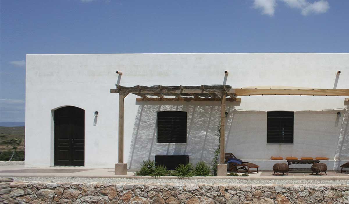 Casa ecol gica cortijo la tenada cabo de gata n jar for Casa ciudad jardin almeria