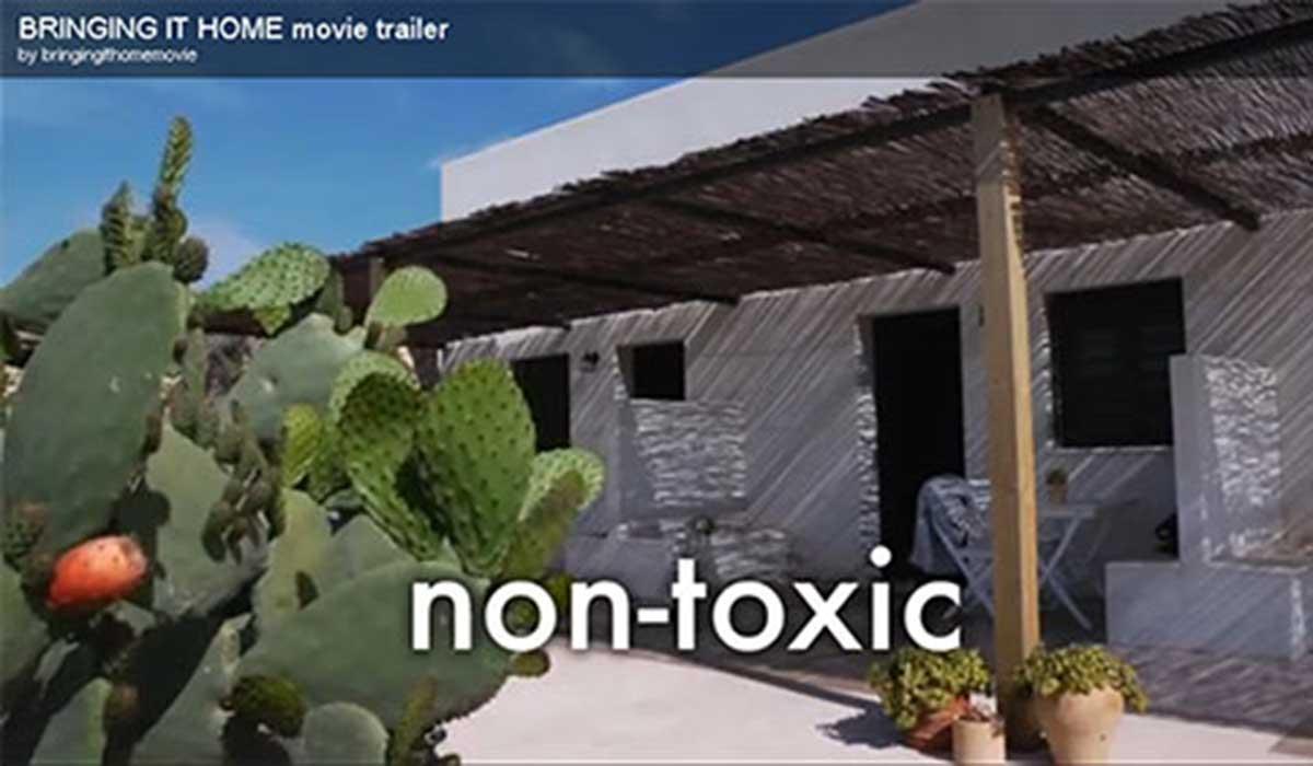 Cabecera La Tenada en un documental sobre arquitectura y cañamo