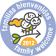 Distintivo familias bienvenidas - family welcome