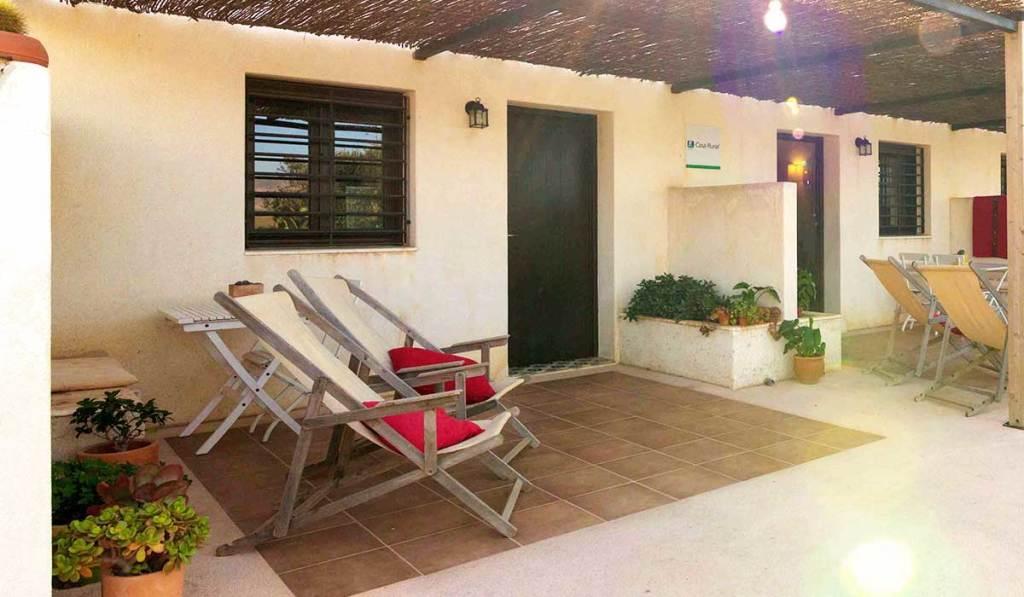 Terraza - Casa rual Olivo