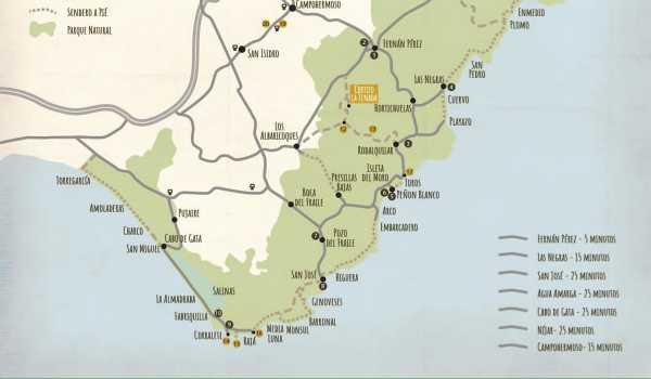 Imagen Nuestro mapa de Cabo de Gata